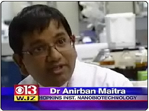 anirban on the news
