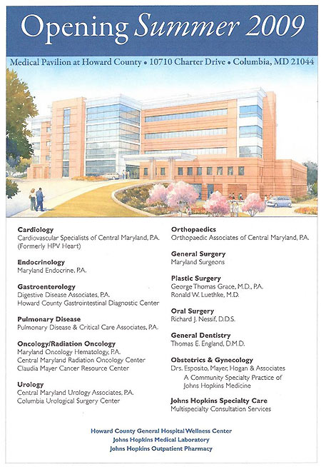 medical pavilion tenant list