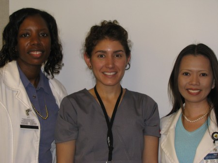 2009-2010 SBB students from left to right:  Malea Pope, Justina Pangallo, and Marjorie Te