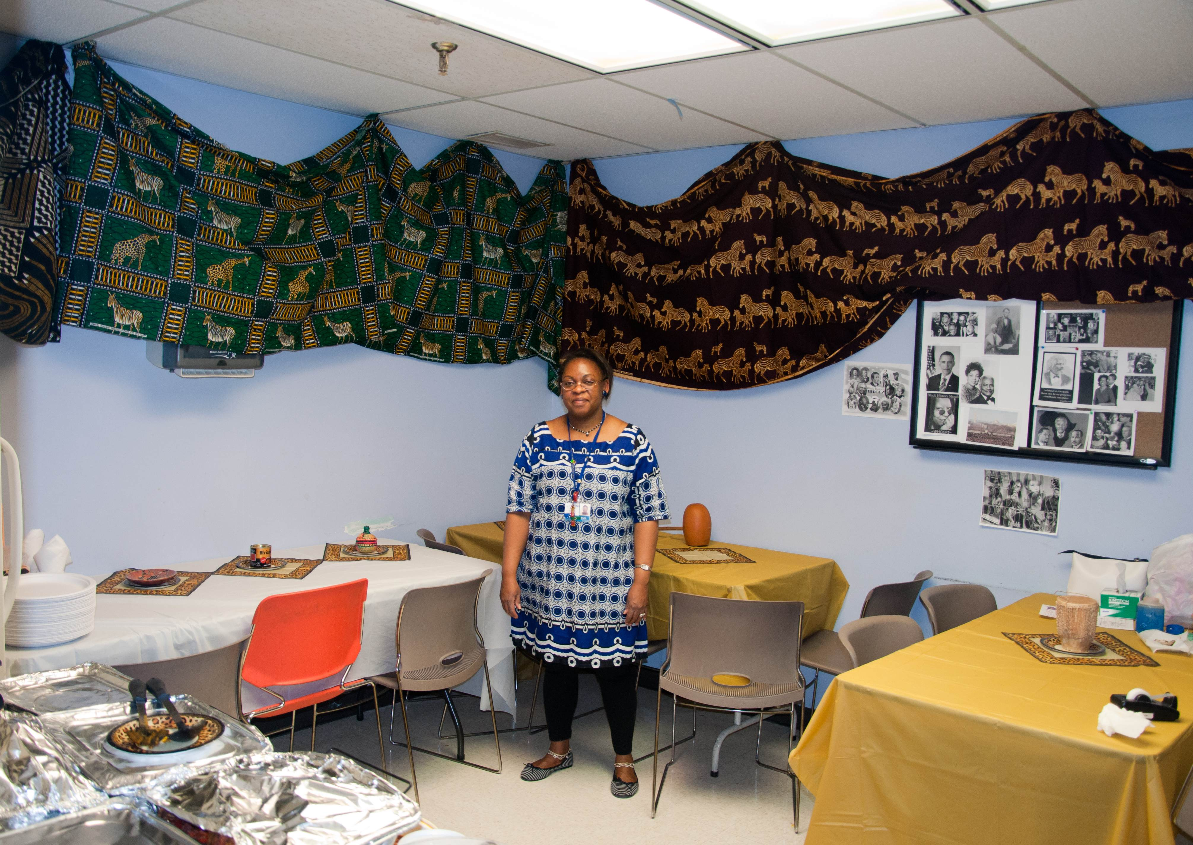 Microbiology lab celebrates black history month the