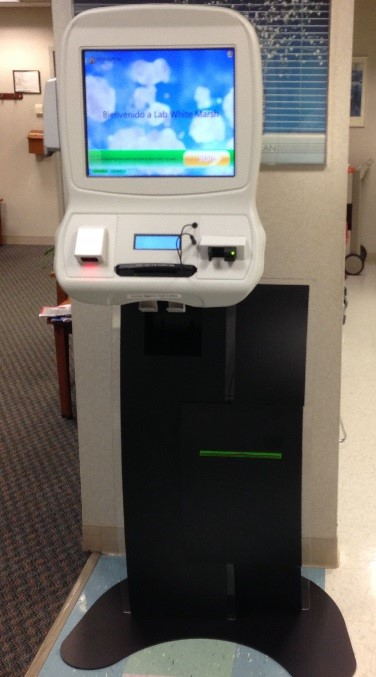 The Patient Check-In Kiosk @ White Marsh.