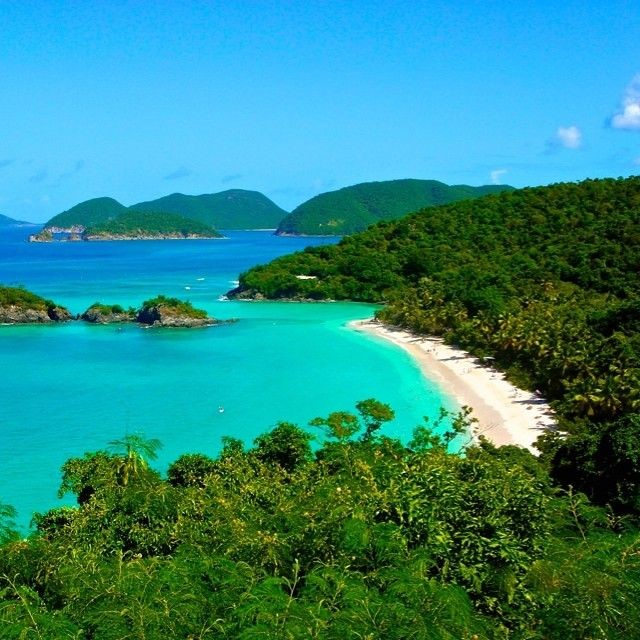 Trunk bay st. john u.s. virgin islands